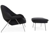 Image du fauteuil design Fauteuil Womb - Gris foncé