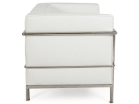 Image du fauteuil design LC2 Le Corbusier Large - Blanc