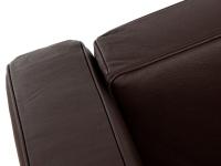 Image du fauteuil design LC2 Le Corbusier - Marron Foncé