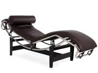 Image du fauteuil design LC4 Chaise longue - Marron