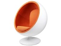Image du fauteuil design Poltrona Ball Eero Aarnio - Arancione
