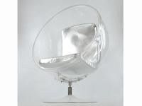 Image du fauteuil design Poltrona Ball Eero Aarnio - Argento
