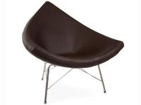 Image du fauteuil design Poltrona Coconut Nelson - Marrone