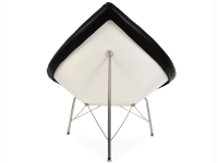 Image du fauteuil design Poltrona Coconut Nelson - Nero