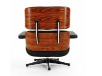 Image du fauteuil design Poltrona Eames Lounge - Legno di rosa