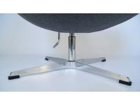 Image du fauteuil design Poltrona Egg AJ - Grigio