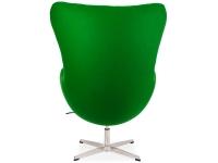 Image du fauteuil design Poltrona Egg Arne COSYSEN - Smeraldo