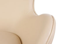 Image du fauteuil design Poltrona Egg Arne Jacobsen - Beige