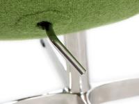 Image du fauteuil design Poltrona Egg Arne Jacobsen - Verde