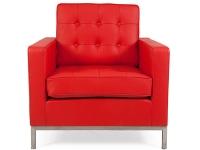 Image du fauteuil design Poltrona Lounge Knoll - Rosso