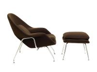 Image du fauteuil design Poltrona Womb - Marrone