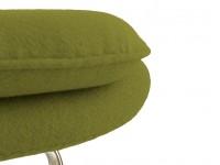 Image du fauteuil design Poltrona Womb - Verde oliva