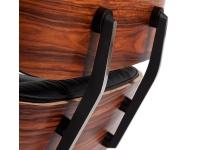 Image du fauteuil design Premium Fauteuil Lounge COSY - Bois de rose