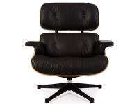 Image du fauteuil design Premium Fauteuil Lounge COSY - Noyer