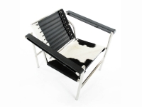Image du fauteuil design Sedia COSY1 - Pony nero