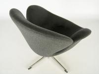 Image du fauteuil design Sedia Swan Arne COSYSEN - Grigio