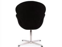Image du fauteuil design Sedia Swan Arne COSYSEN - Nero