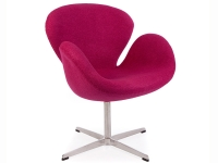 Image du fauteuil design Sedia Swan Arne COSYSEN - Rosa