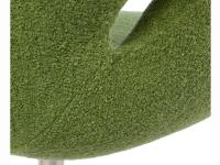 Image du fauteuil design Sedia Swan Arne Jacobsen - Verde