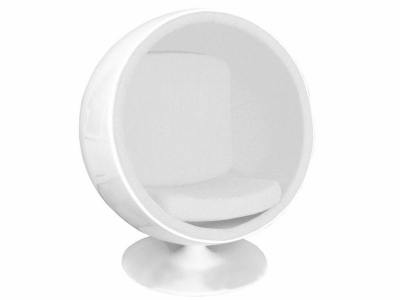 Image du fauteuil design Chaise Ball Eero Aarnio - Blanc