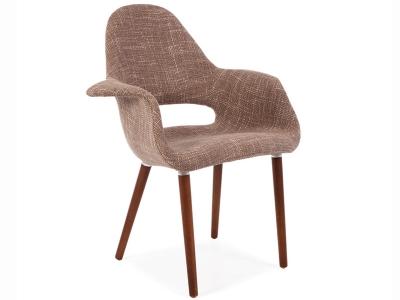 Image du fauteuil design Fauteuil Eames Organic - Marron Clair