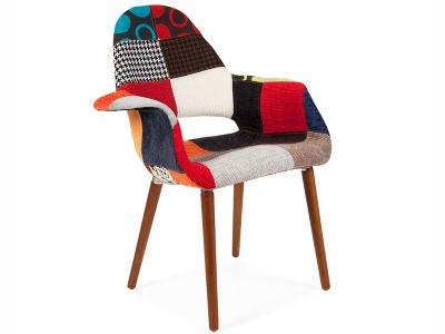 Image du fauteuil design Fauteuil Eames Organic - Patchwork