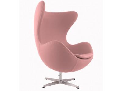 Image du fauteuil design Fauteuil Egg AJ - Rose pâle