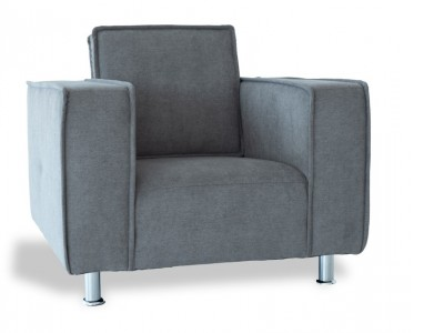 """Image du fauteuil design Fauteuil Poleric - laine gris """"Elephant"""""""