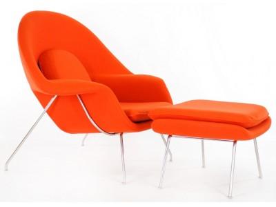 Image du fauteuil design Fauteuil Womb - Orange foncé