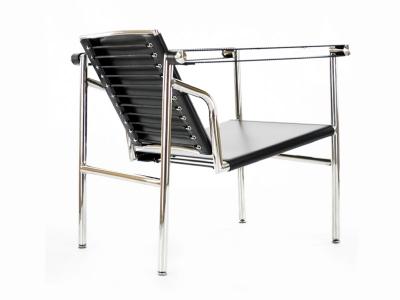 Image du fauteuil design LC1 Chaise Le Corbusier - Noir