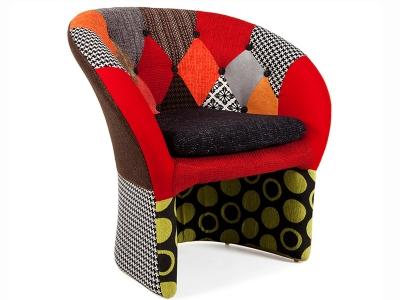 Image du fauteuil design Poltrona Bay Lounge - Patchwork