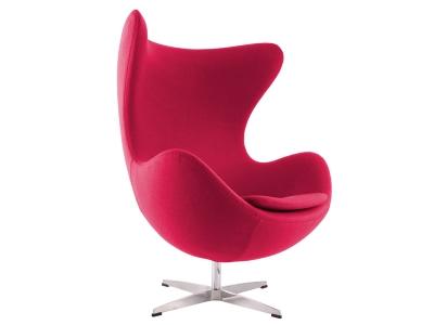 Image du fauteuil design Poltrona Egg Arne Jacobsen - Rosa