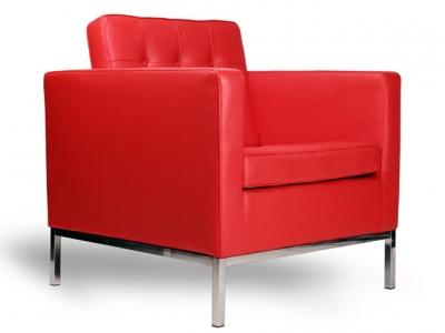 Image du fauteuil design Poltrona Lounge Knoll-Rosso