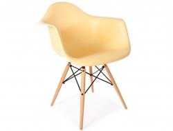 Chaise design DAR - Crème