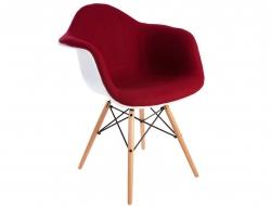 Chaise design DAR laine de rembourrage - Rouge