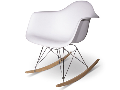 Rocking chair RAR blanc