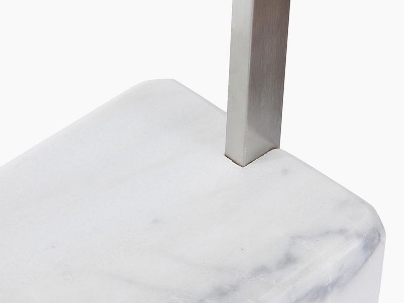 Image de la lampe design Lámpara de pie Arco - Mármol blanco