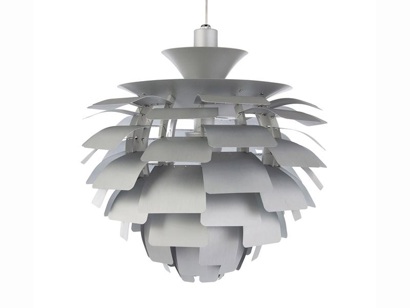 Image de la lampe design Lámpara de techo Artichoke S - Plata