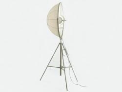 Image de la lampe design Lámpara de pie Fortuny - Blanco