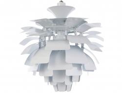 Image de la lampe design Lámpara de techo Artichoke L - Blanco