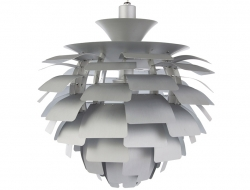 Image de la lampe design Lámpara de techo Artichoke L - Plata