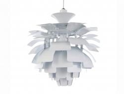 Image de la lampe design Lámpara de techo Artichoke S - Blanco