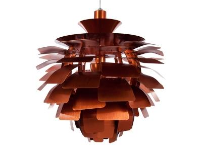 Image de la lampe design Lámpara de techo Artichoke S - Cobre