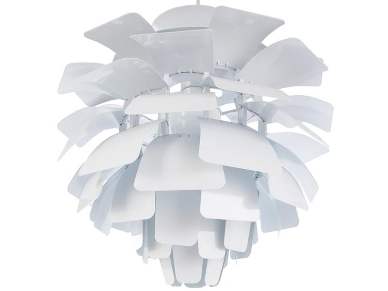 Image de la lampe design Lampada a sospensione Artichoke L - Bianco