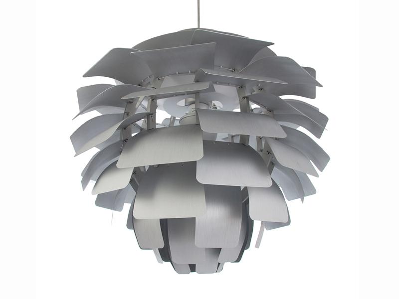 Image de la lampe design Lampada a sospensione Artichoke S - Argento