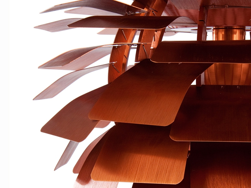 Image de la lampe design Lampada a sospensione Artichoke S - Rame