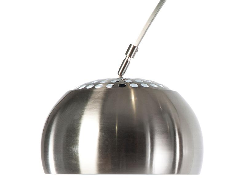 Image de la lampe design Lampada da terra Arco - Marmo nero