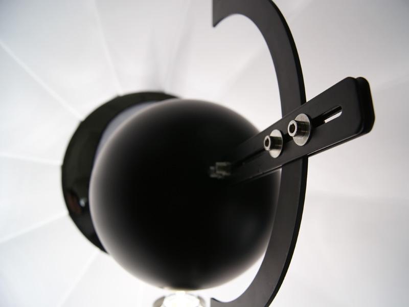 Image de la lampe design Lampada da terra Fortuny - Nero