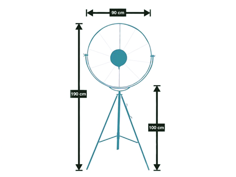 Image de la lampe design Lampadaire Fortuny - Blanc