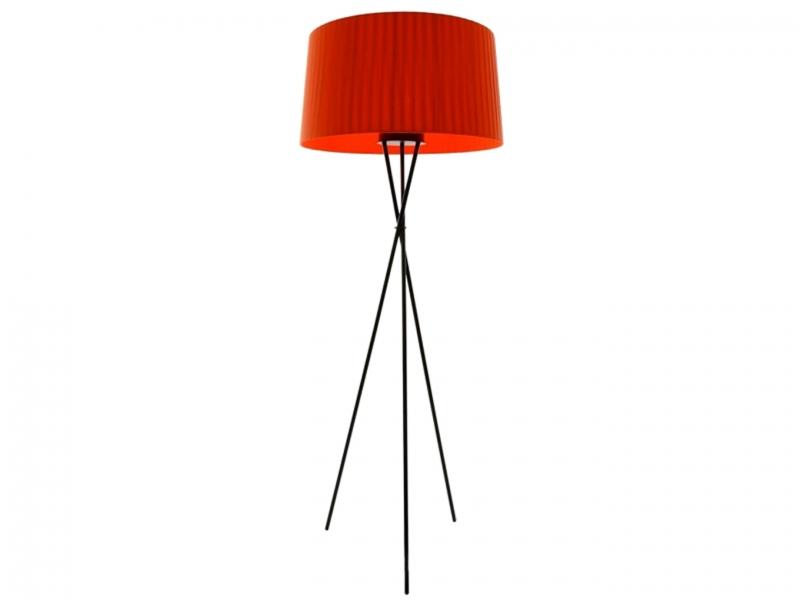 Lampe de sol Tripod G5 Rouge